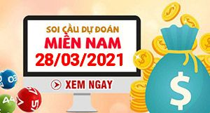 Soi cầu XSMN 28-03 - Dự đoán xổ số Miền Nam ngày 28/03/2021