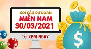 Soi cầu XSMN 30-03 - Dự đoán xổ số Miền Nam ngày 30/03/2021
